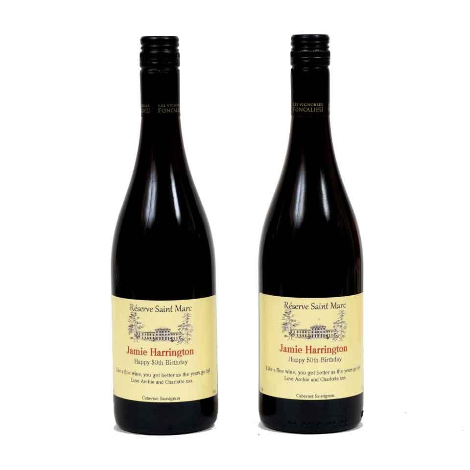 Personalised Wine - Red