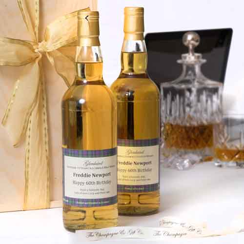 Create your own personalised Whisky