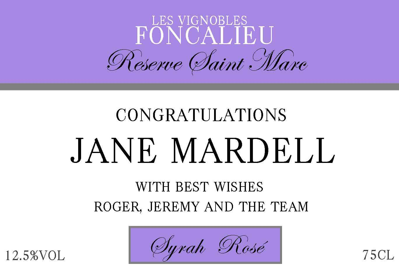 Congratulations-personalised-wine-label