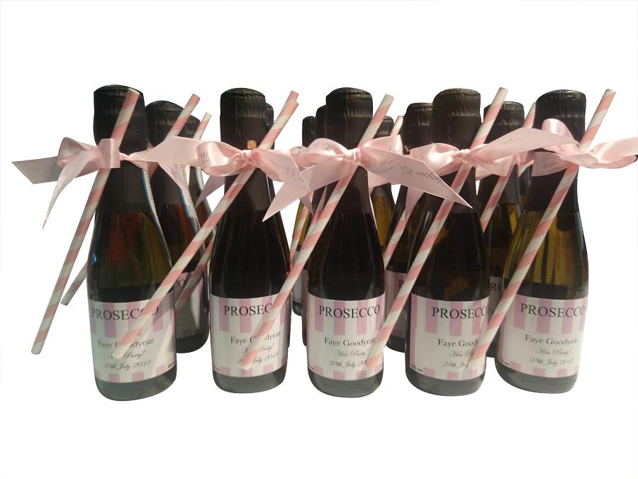Personalised Mini Proseccoc Bottles