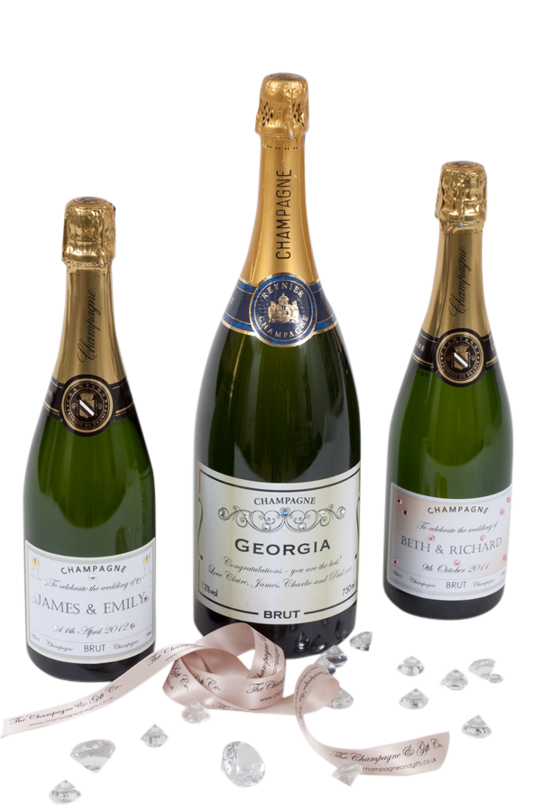 Personalised Wedding Champagne - Classic Brut