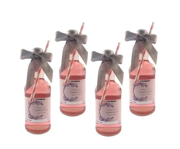 personalised-rose-lemonade-for-wedding-favours